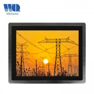 15 Inch All-in-One Touch Industrial Panel PC Embedded Industrial PC