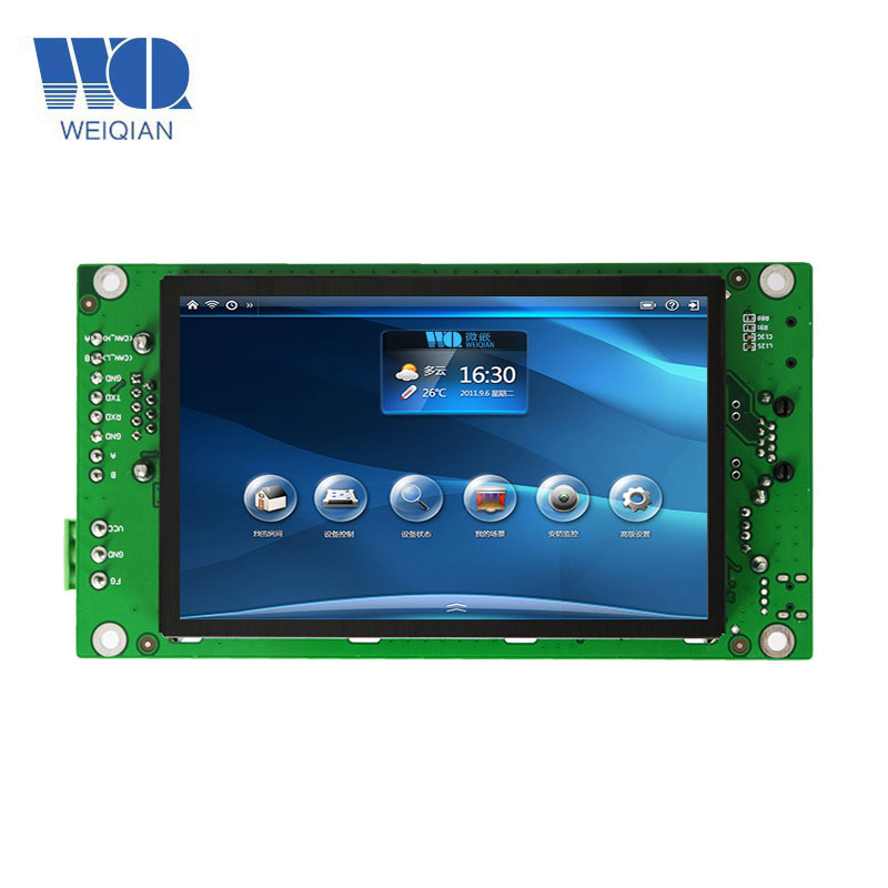 WinCE Touch Screen HMI,7 Inch Touch Module Industrial Panel PC